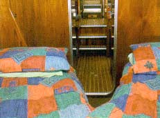 An example of a twin berth