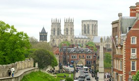 York Minster and City Walls